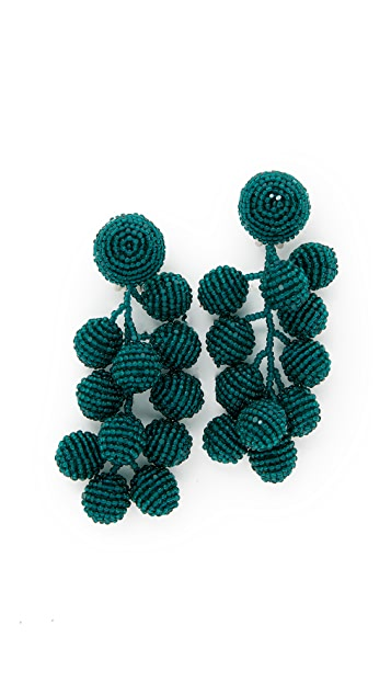 Sachin & Babi Coconut Clip On Earrings