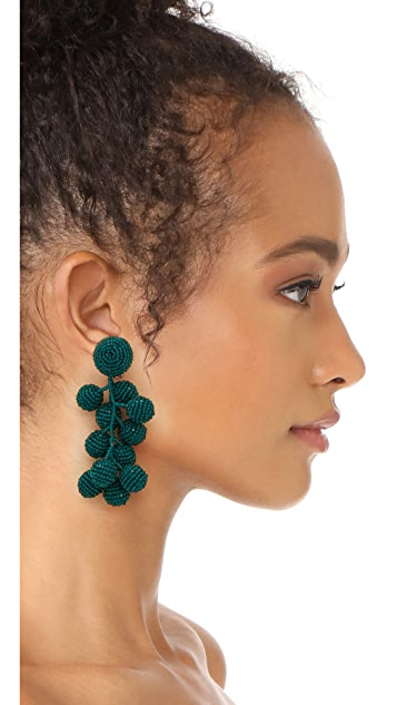 Sachin & Babi Coconut Clip On Earrings