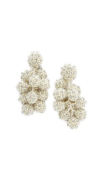 Sachin & Babi Bijoux Coconut Clip On Earrings