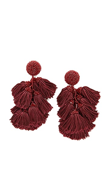 Sachin & Babi ChaCha earrings - Red 8rnuv5t4