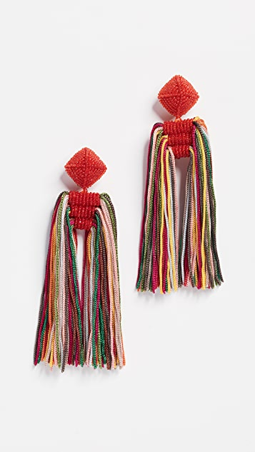 Sachin & Babi Dupio Tassel Earrings