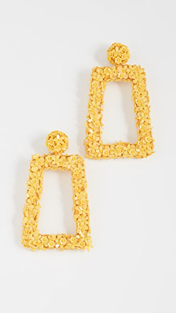 Sachin & Babi Fleur Dusk Clip On Earrings