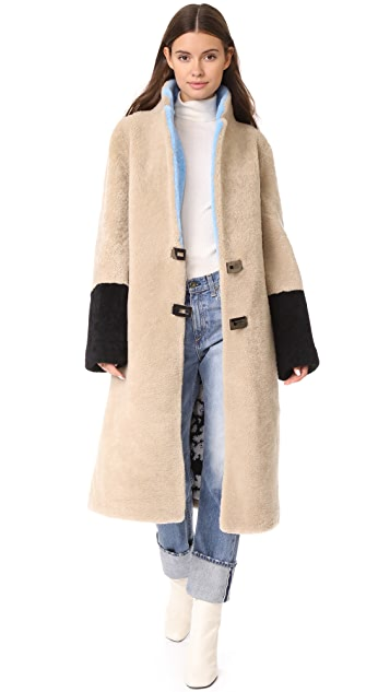 Saks Potts Febbe Sky Coat