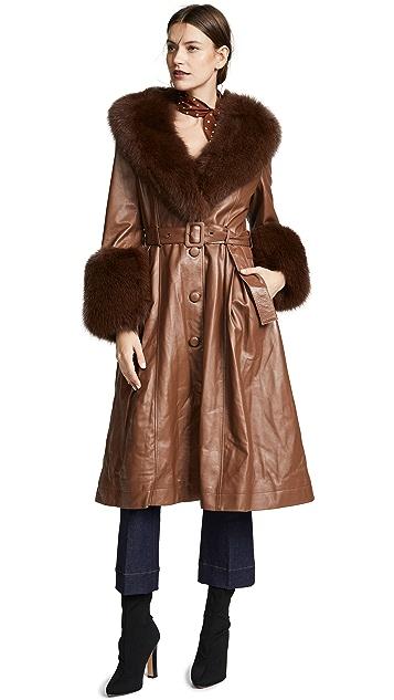 Saks Potts Foxy Coat