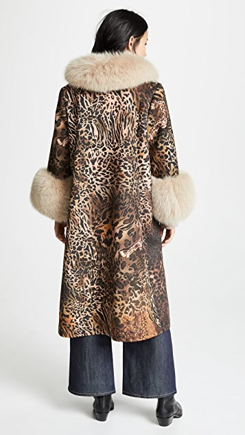 Saks Potts Yvonne Animal Coat