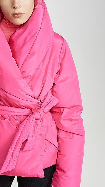 Saks Potts Пуховая куртка с поясом