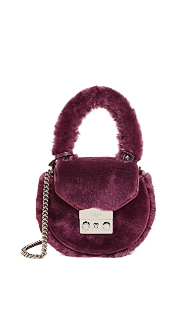 Salar Mimi Mini Teddy Cross Body Bag
