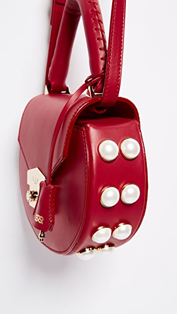 Salar Mimi Pearl Cross Body Bag