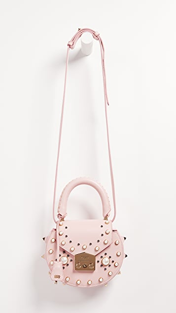 Salar Mimi Imitation Pearl Cross Body Bag