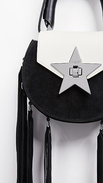 Salar Mimi Fringe Cross Body Bag