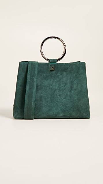 Salar Elle Ring Handle Tote Bag
