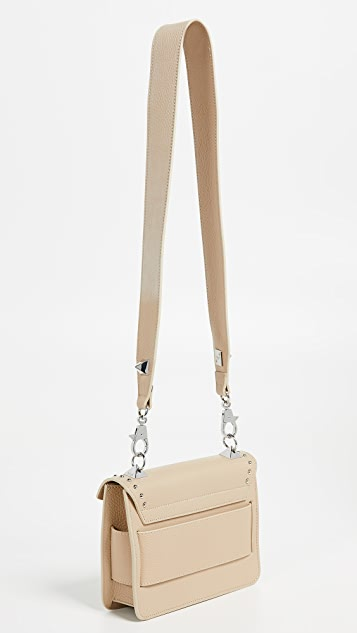 Salar Mila Studs Crossbody Bag