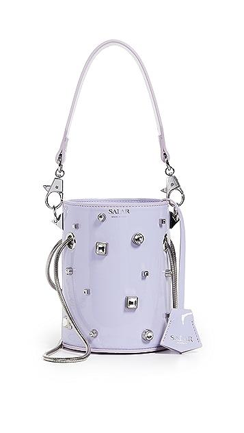 Salar Celia Strass Bucket Bag