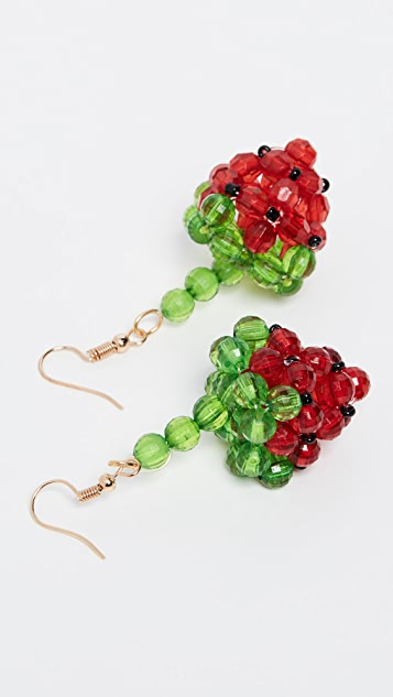 Susan Alexandra Strawberry Earrings