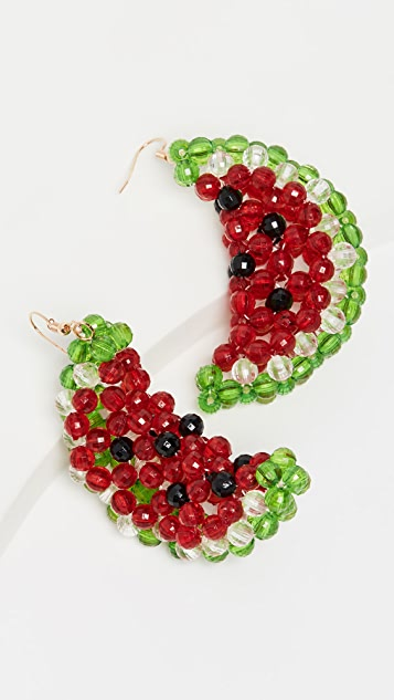 Susan Alexandra Watermelon Earrings