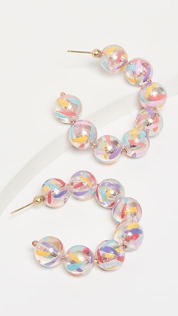 Susan Alexandra Серьги-кольца Bubble