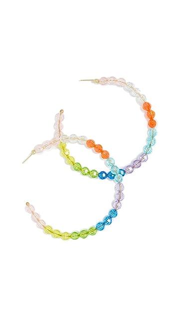Susan Alexandra Merry Jumbo Hoop Earrings