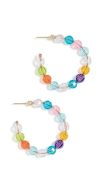 Susan Alexandra Lil Merry 圈式耳环