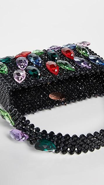 Susan Alexandra Сумка Bop с кристаллами