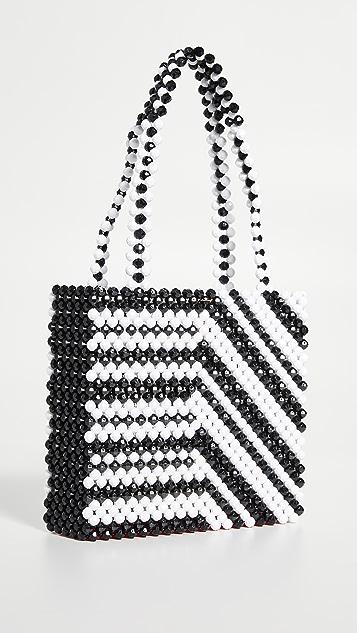 Susan Alexandra Zebra Bag