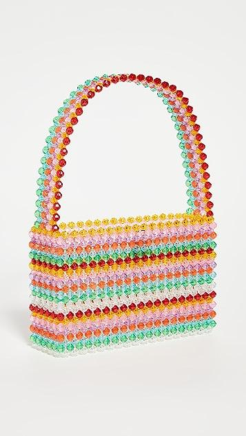 Susan Alexandra Sour Straw Bag