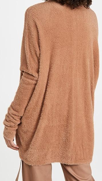 LAPOINTE 柔软超大茧型系扣衫