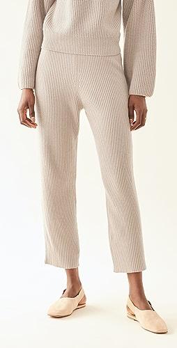 LAPOINTE - 罗纹锥形窄脚裤