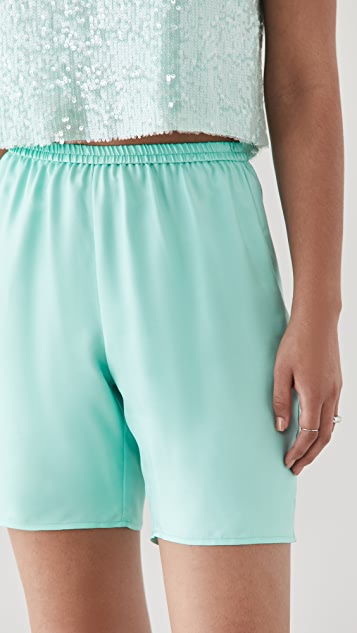 LAPOINTE Silky Twill Shorts