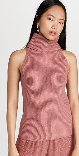 LAPOINTE - 羊毛羊绒高领背心