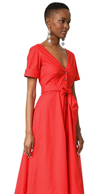 Saloni Zoey Cutout Dress