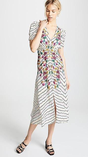 Saloni Платье Lea