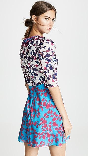 Saloni Colette Mini Dress