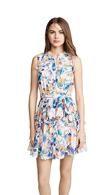 Saloni Tilly Ruffle-B 连衣裙