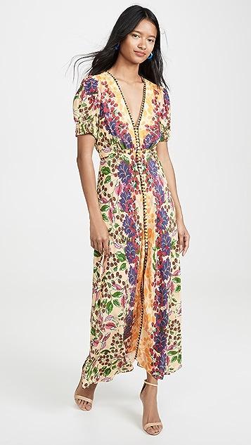 Saloni Длинное платье Lea