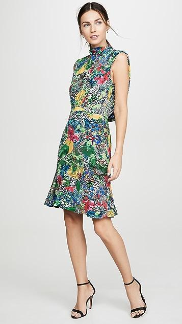 Saloni Короткое платье Fleur
