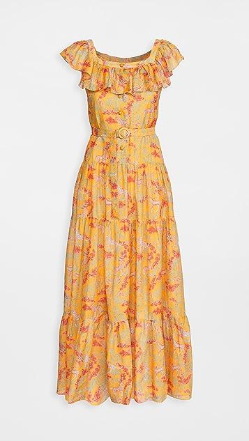 Saloni Jemma Long Dress