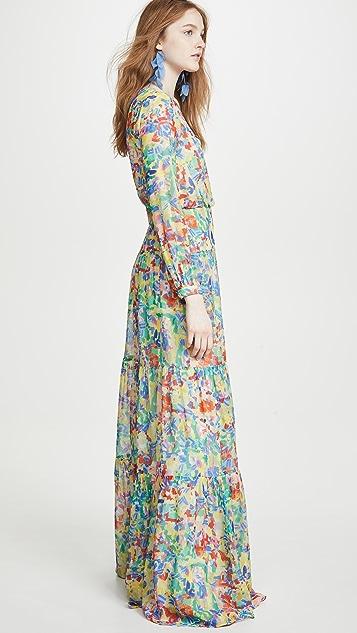 Saloni Isabel 长连衣裙