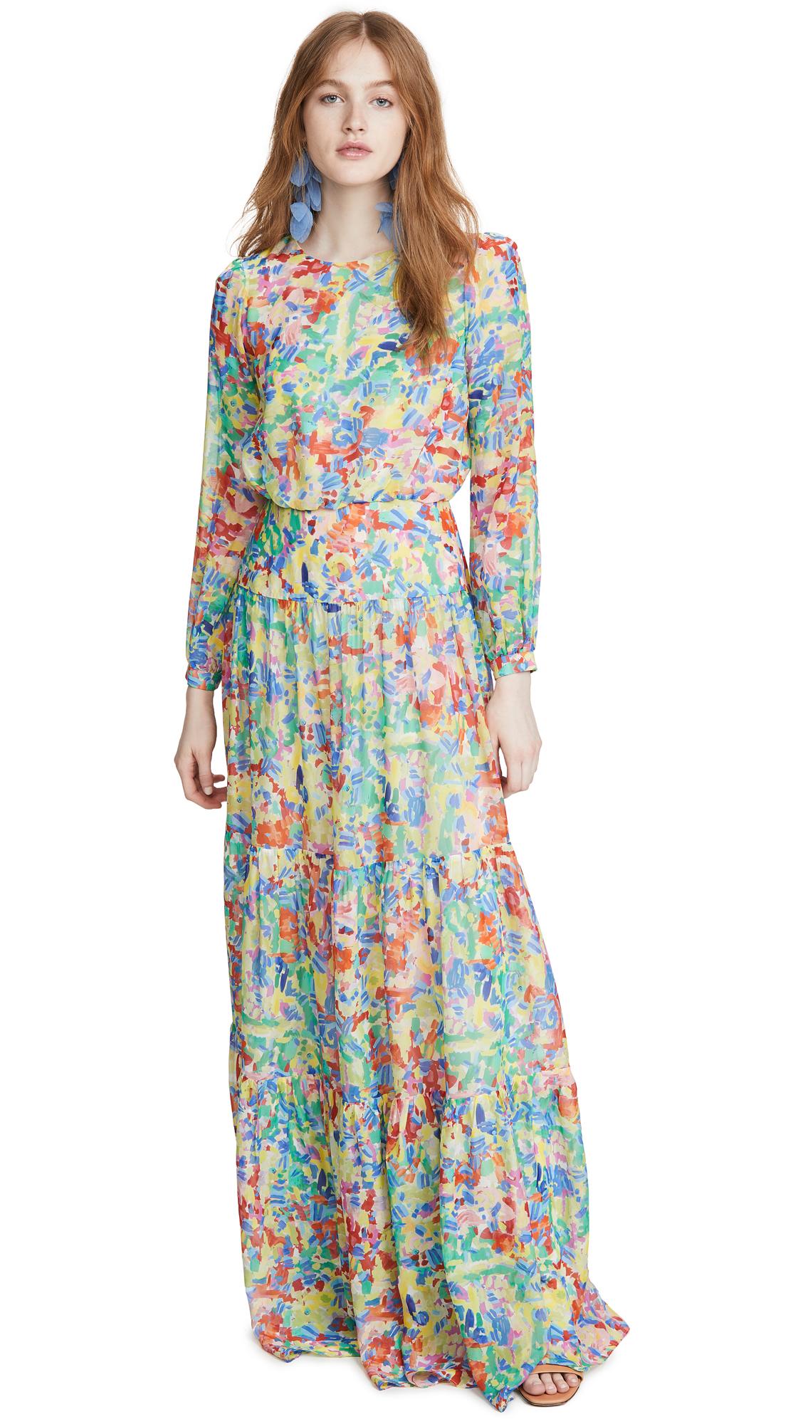 Saloni Isabel Long Dress