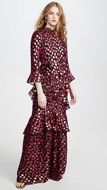 Saloni Marissa Long Dress