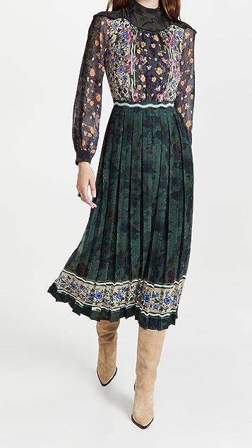 Saloni Joy Long Dress