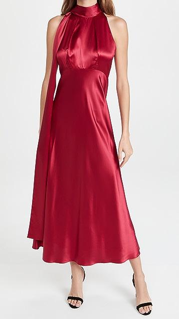 Saloni Michelle Midi-B Dress