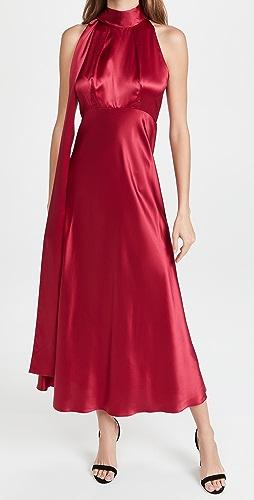 Saloni - Michelle Midi-B Dress