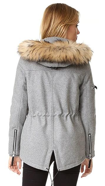 SAM. Mini Delancey Wool Coat