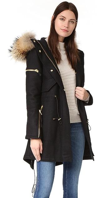 SAM. Delancey Wool Coat