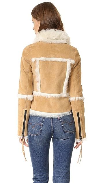 SAM. Stevie Shearling Jacket