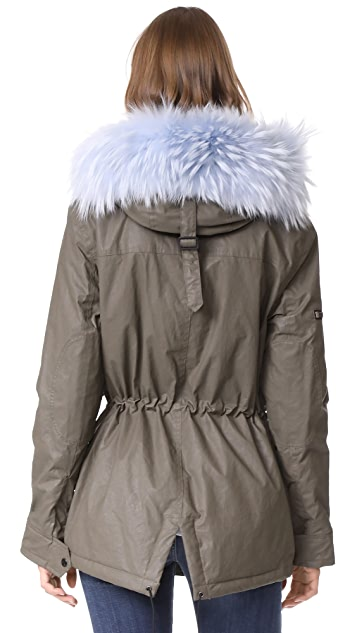 SAM. Mini Hudson Drawstring Parka