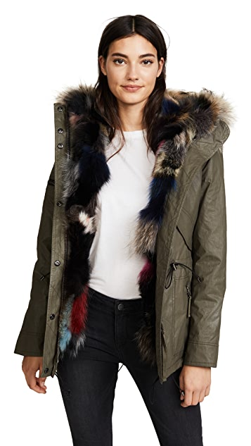 SAM. Luxe Limelight Parka