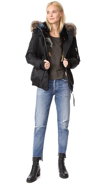 SAM. Multi Luxe Sloane Bomber Jacket