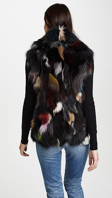 SAM. Multi Lola Fur Vest