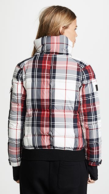 SAM. Plaid Freestyle Bomber Jacket